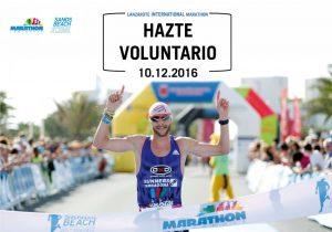 Voluntario MARATON Lanzarote 2016