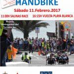 Vuelta a Playa Blanca Handbike: 11 febrero