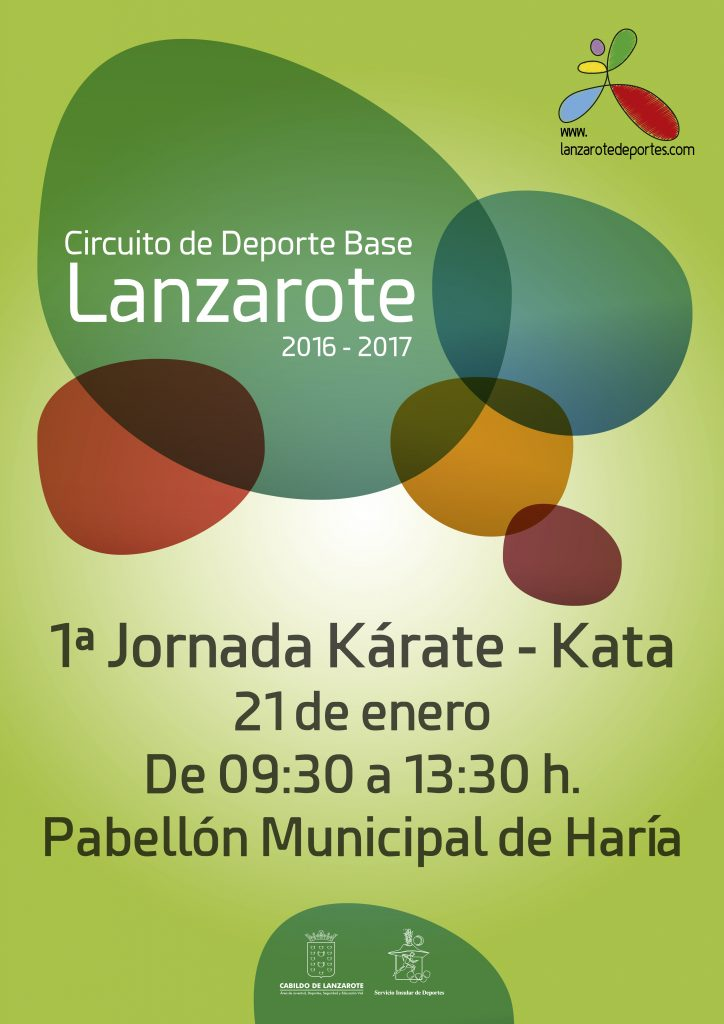 Cartel 1ª Jornada Kárate