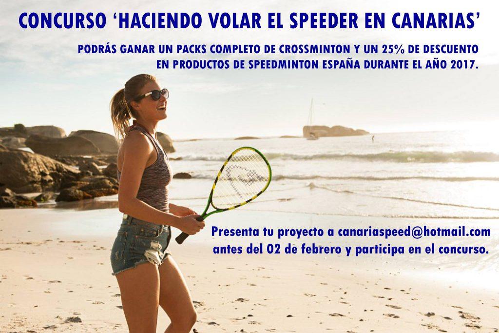 Concurso haciendo volar el Speeder en Canarias
