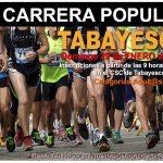 Carrera Tabayesco: 29 enero