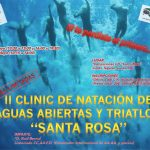 II Clinic técnico de natación de Aguas Abiertas y Triatlon