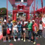 El belga Bart Aernouts y la británica Lucy Charles, vencedores del 'XXVI Ironman Lanzarote'