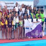 CN Pingüinos del RCNA, terceras en el Campeonato de Canarias de Natación Sincronizada en categoría alevín