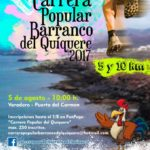 Carrera Popular Barranco del Quíquere: 5 agosto