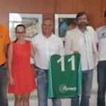 El presidente del Cabildo recibió al Club Baloncesto Maramajo 'Teguise 600 Años de Historia', que militará en la Liga EBA la próxima temporada