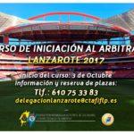 Curso de iniciación al arbitraje (Fútbol)