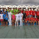 Comienzo de la temporada de la liga de natación 2017-18