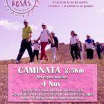 Caminata TriRosas: 4 noviembre