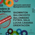 Esta semana en  #JuegosLanzarote (JIPD)