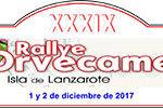 Rallye Orvecame Isla de Lanzarote: 1 y 2 diciembre
