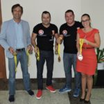 FOTONOTICIA  El presidente del Cabildo de Lanzarote recibió al Club Espinosa Team Lanzarote por sus éxitos en el Mundial de Kick Boxing y Artes Marciales de Portugal