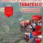 Carrera Popular Tabayesco: 28 enero 2018