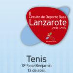 III Circuito de Deporte Base Lanzarote 2018-2019