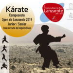 KÁRATE CAMPEONATO OPEN 2019 JUNIOR / SENIOR