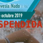 Suspendida la Travesía a Nado El Rio entre Lanzarote y La Graciosa por las condiciones adversas en el mar