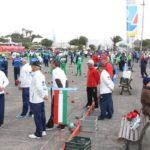 Comienza el XX Torneo de Bola Canaria de Madera Abuelos Conejeros con la participación de más de 800 mayores