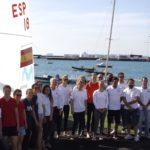 Se presentaron las 7 tripulaciones femeninas de 470 que hacen la preparación olímpica en el RCNA