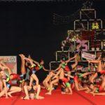 Casi 400 gimnastas participaron en el XXV Festival de Gimnasia de Navidad organizado por el Cabildo