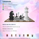 Campeonato insular de AJEDREZ por edades 2020