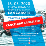 Comunicado: SAILFISH Lanzarote Open Water cancelado