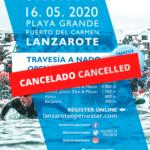 Comunicado: SAILFISH Lanzarote Open Water cancelado