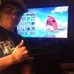 Mariano Stinga ganador del I Trofeo Vela Latina LanzaroteDeportiva Virtual
